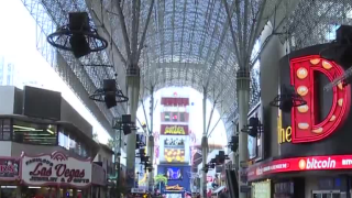 Fremont Street canopy upgrade expected to be finished by end of 2019