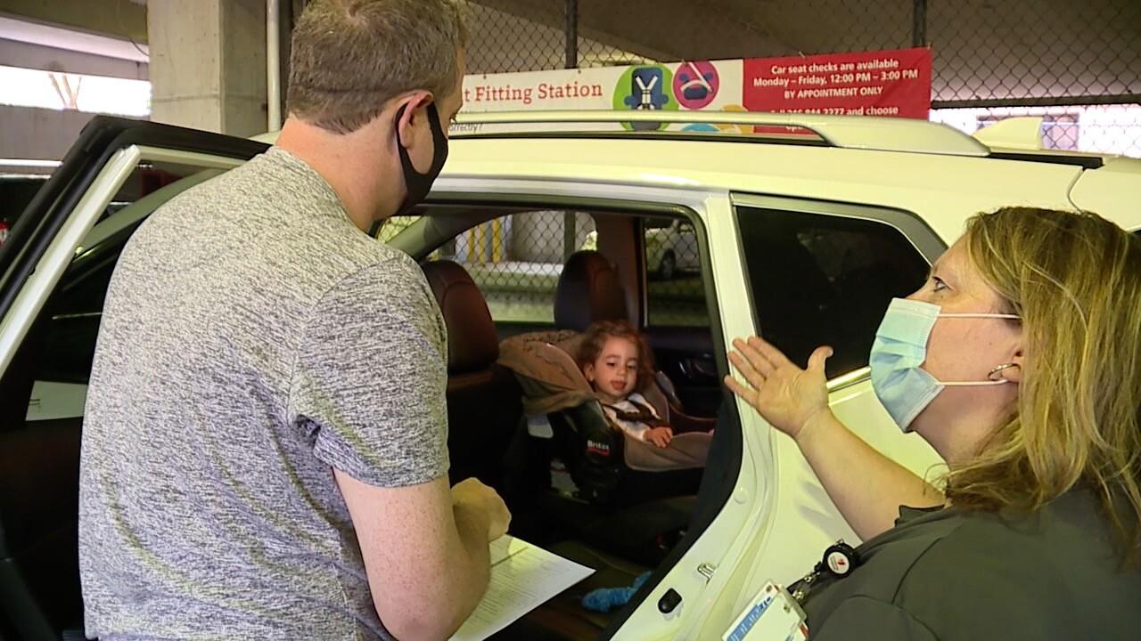 car seat scam
