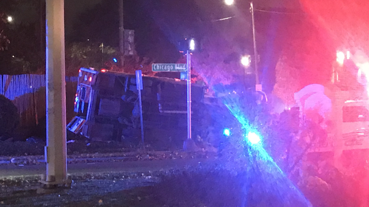 Police, EMS hospitalized after collision