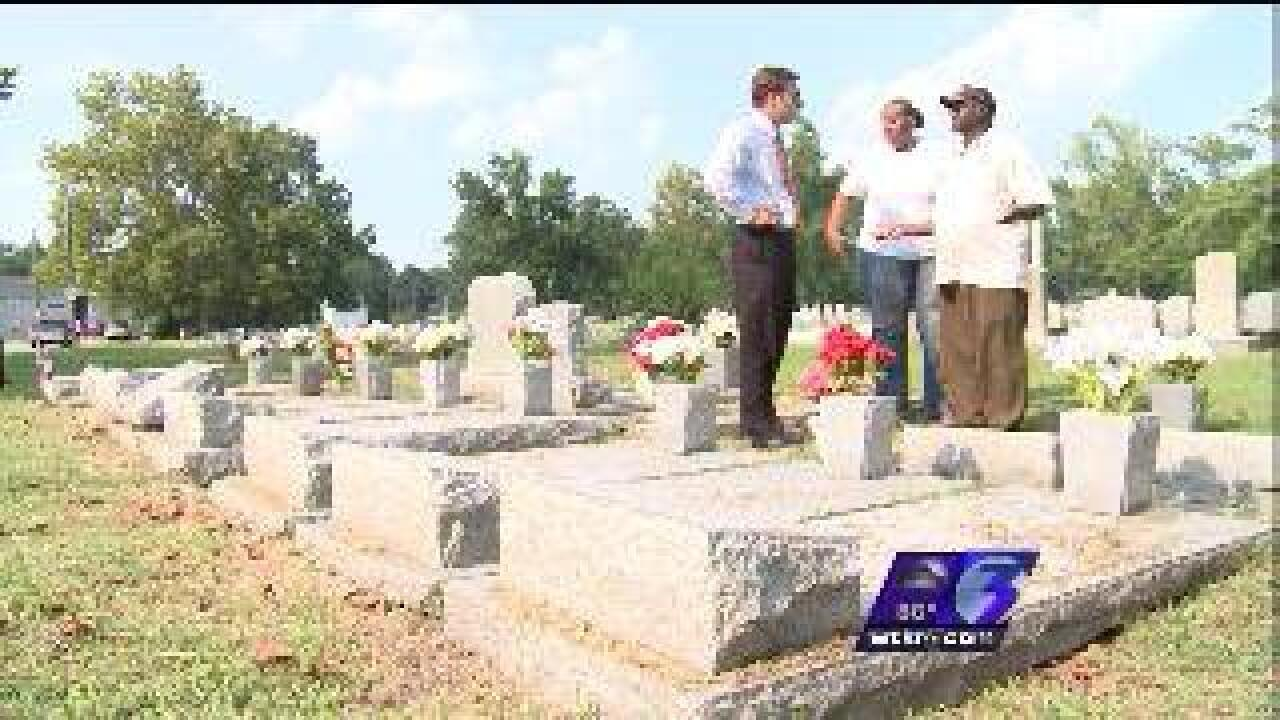 Family wants answers about headstones damaged by drivers
