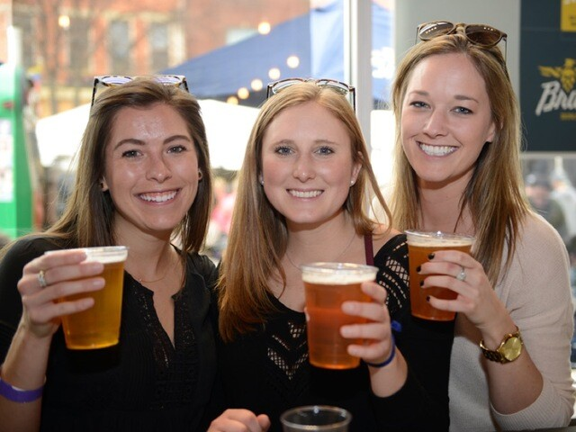 Braxton Brewing's anniversary block party