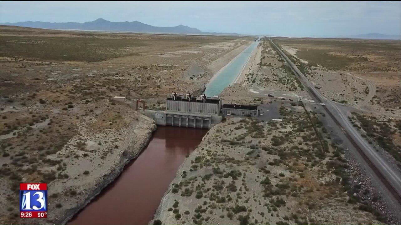 Uniquely Utah: The Great Salt Lake's long-forgotten pumpingstation