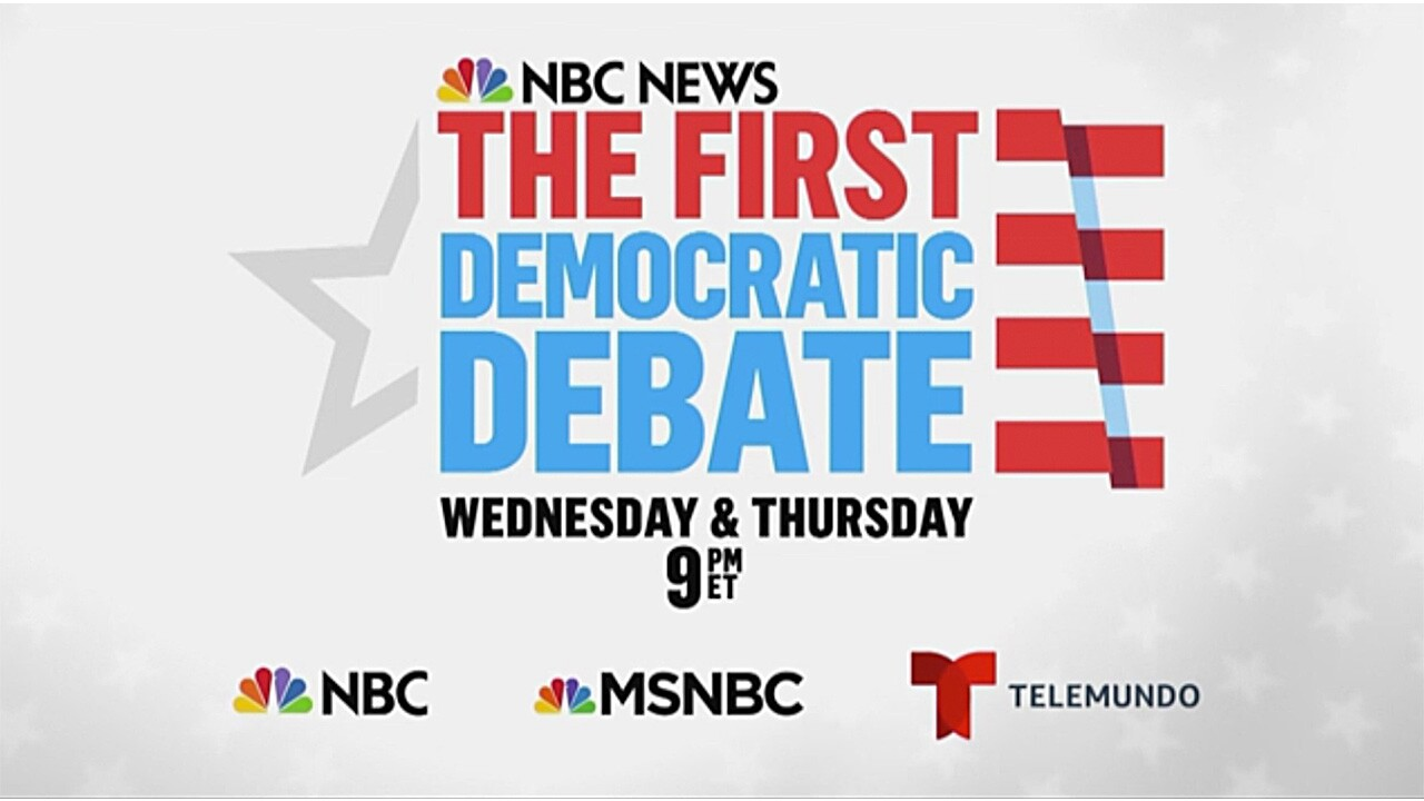 Here's how to watch tonight's first Democratic presidential debate