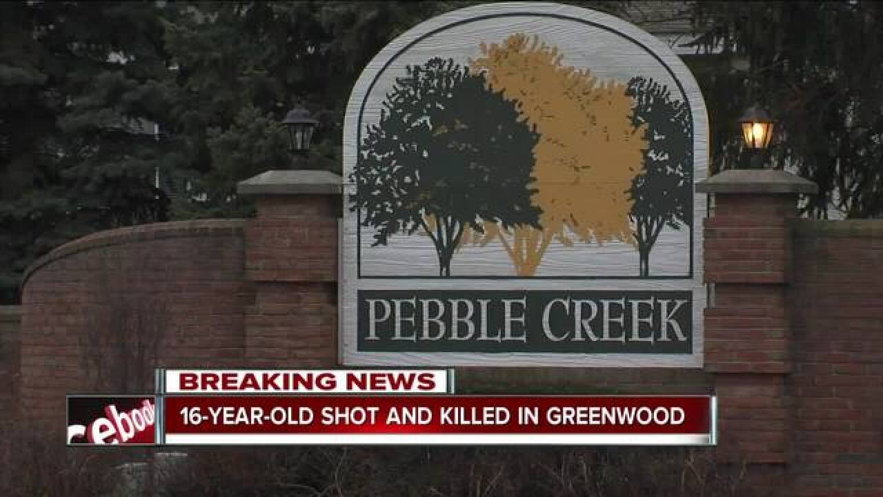 Greenwood teen found shot to death in back of vehicle