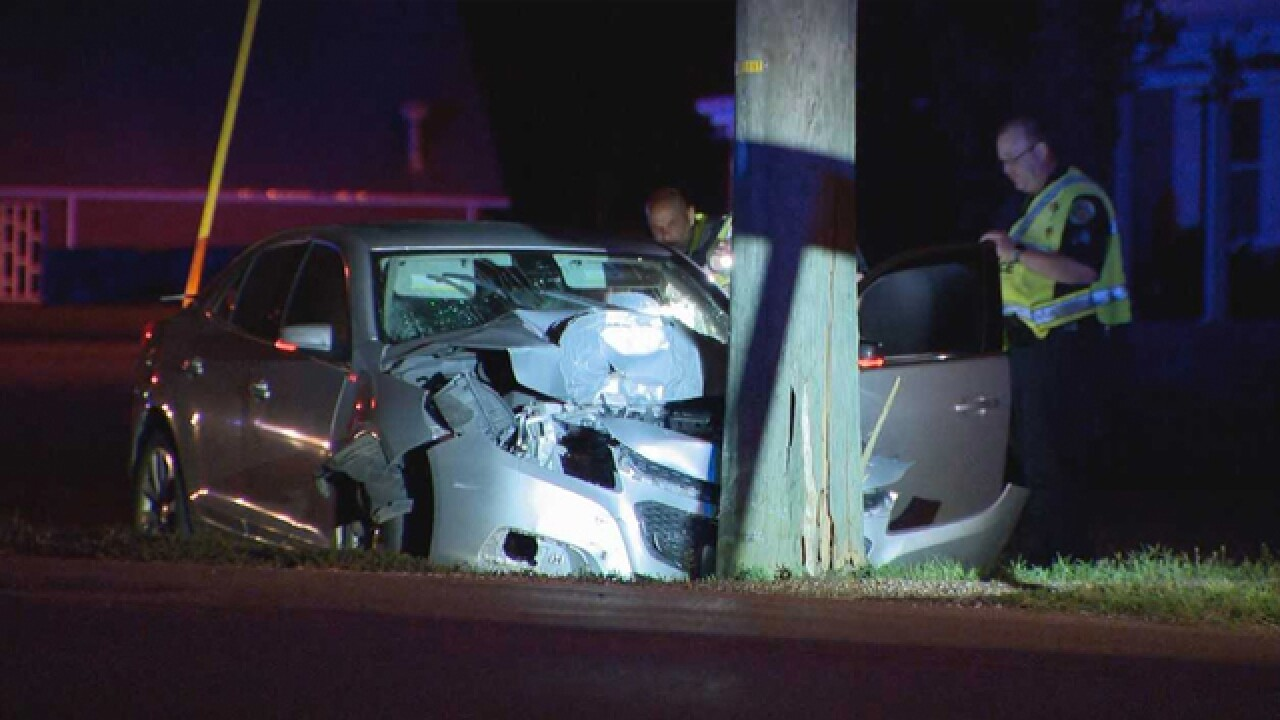 Driver Killed After Hitting Pole In Nashville