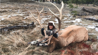 Paraplegic hunter bags Montana trophy