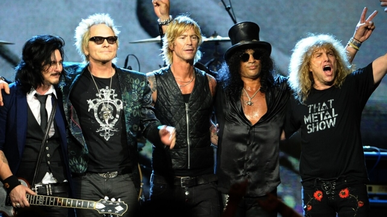 Guns N' Roses announce Milwaukee Bradley Center concert