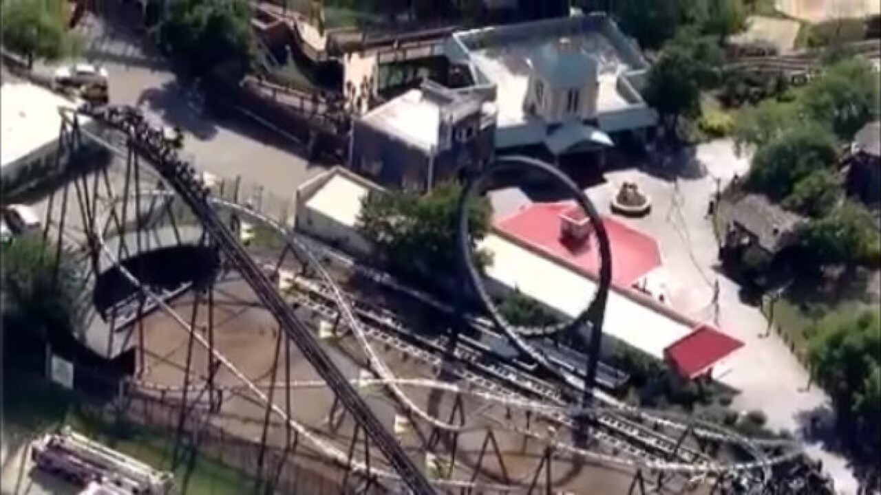 8 rescued from roller coaster in OKC