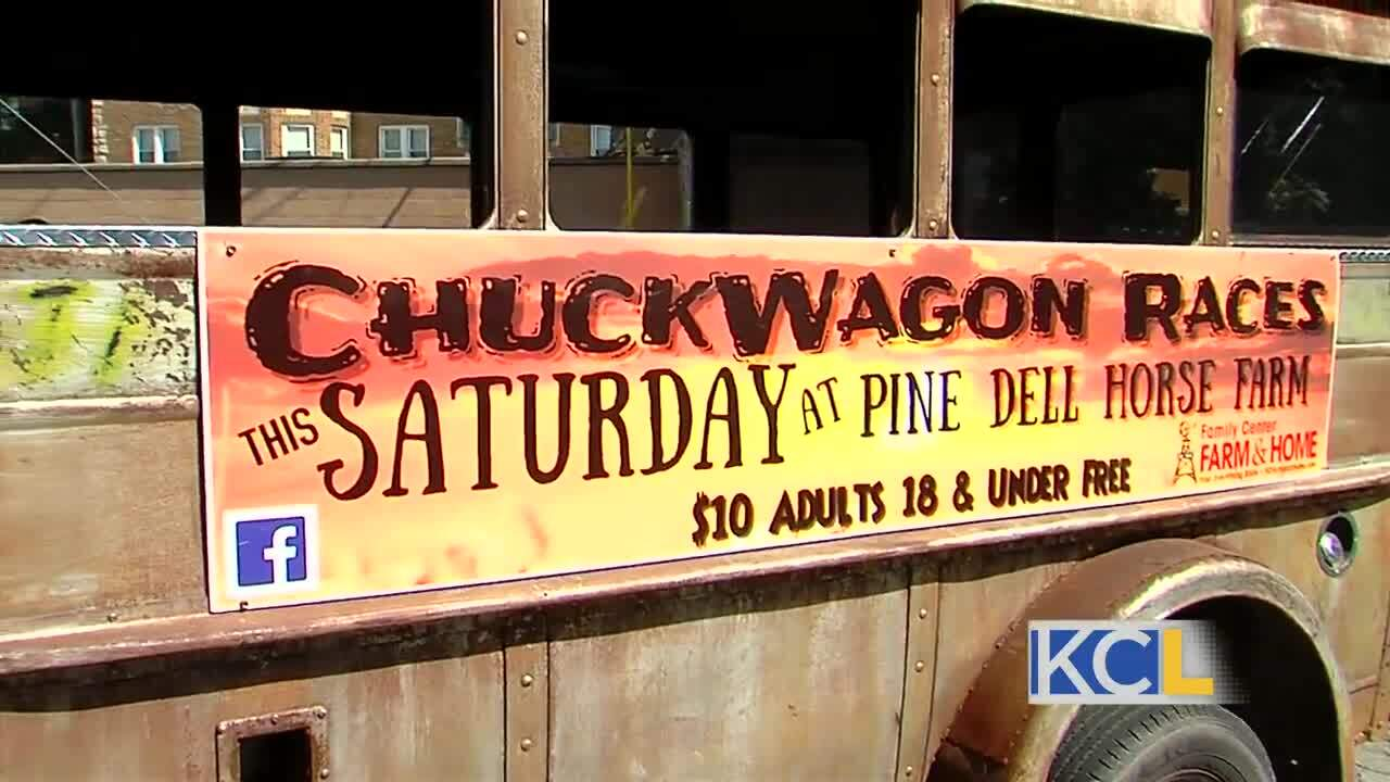 Rodeo and Chuckwagon Races at Pine Dell Horse Farm