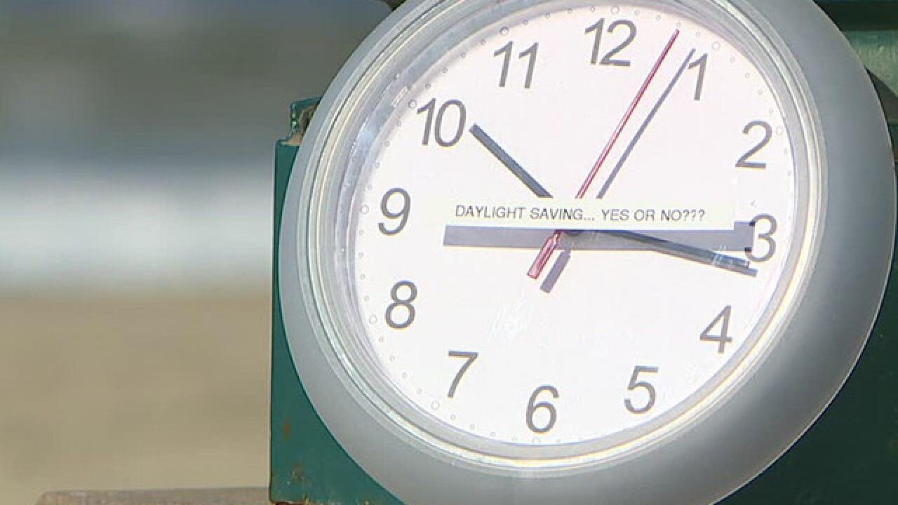 Calif. voters OK plan for year-round daylight saving time