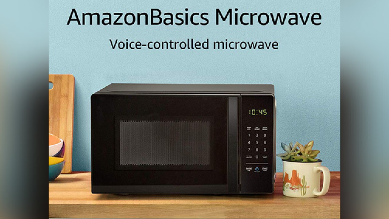 Amazon to begin selling Alexa compatible microwave