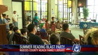 Summer Reading Blastoff Partygets kids reading this summer