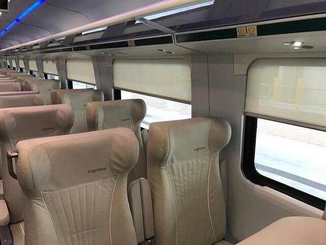 Photos: Sneak peek inside the new Brightline trains