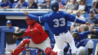 Blue Jays, Phillies postpone weekend series after Phillies staffers test positive for COVID-19