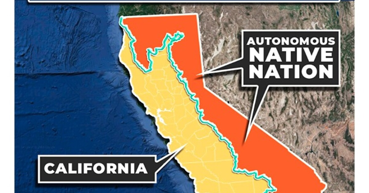 New Calexit plan aims to create 'autonomous Native American