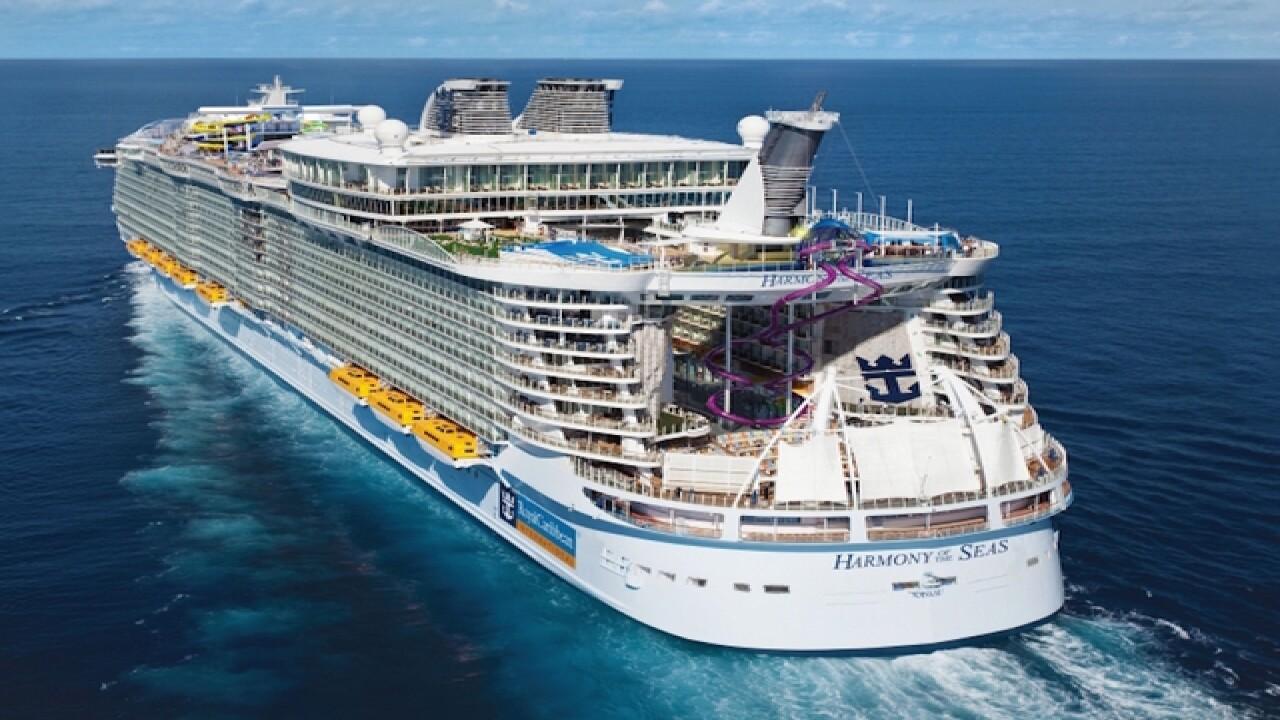 World's largest ship sets sail