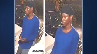 "The Palm Beach County Sheriff's Office is looking to identify a ""car creeper"" who was spotted looking around vehicles in Lake Park early Friday."