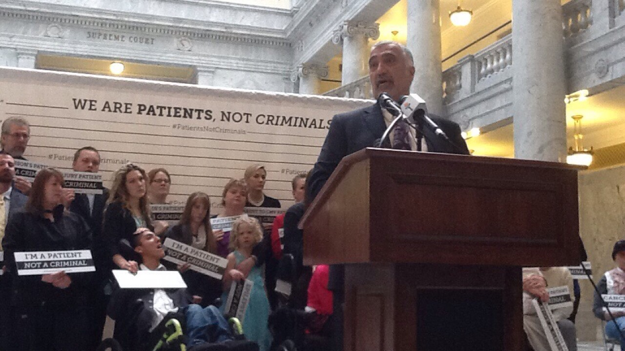 Salt Lake County DA backs medical marijuana legislation