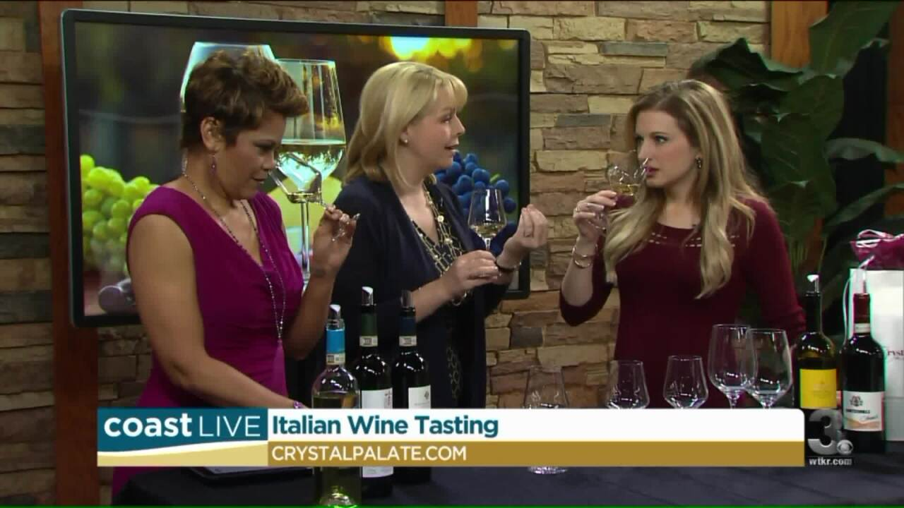 Wine and the right way to taste with a local sommelier on Coast Live