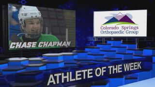 KOAA Athlete of the Week: Chase Chapman, Doherty Boys Hockey