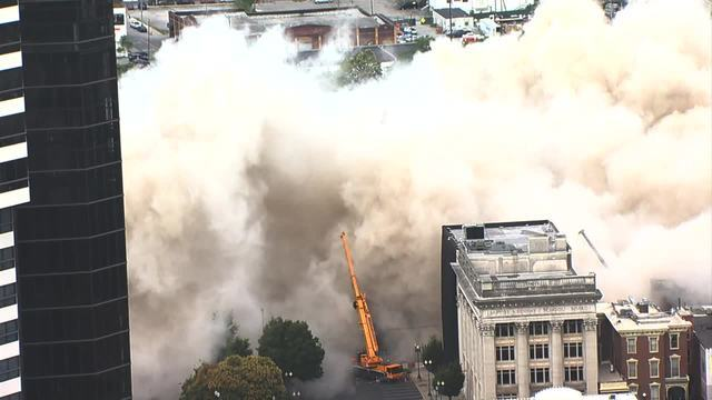 Photos: Sullivan Tower Imploded In Downtown Nashville