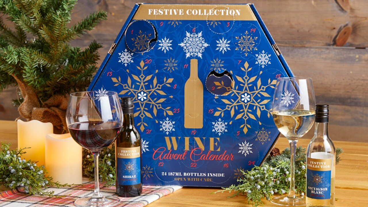 Aldi's popular wine and beer Advent calendars are returning to stores Nov. 6