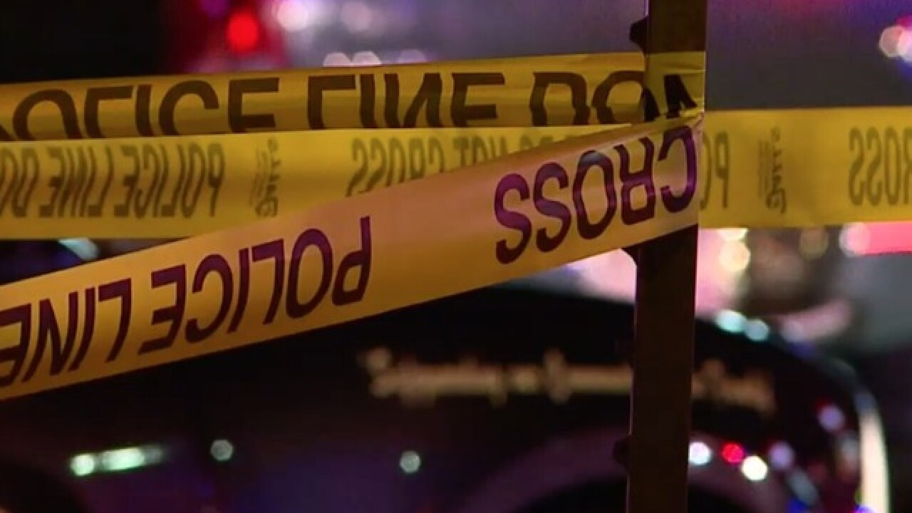 1 dead in Stapleton stabbing; suspect at large