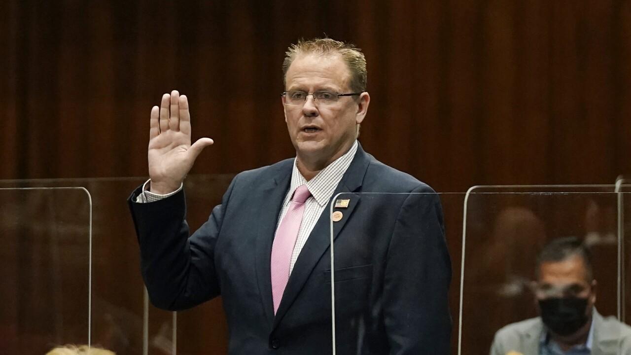 Arizona Rep. Bret Roberts has announced he's resigning from the Legislature. AP photo.