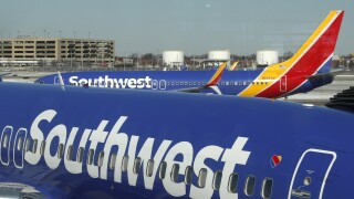 Southwest Airlines cutting back on cleaning between flights, reports