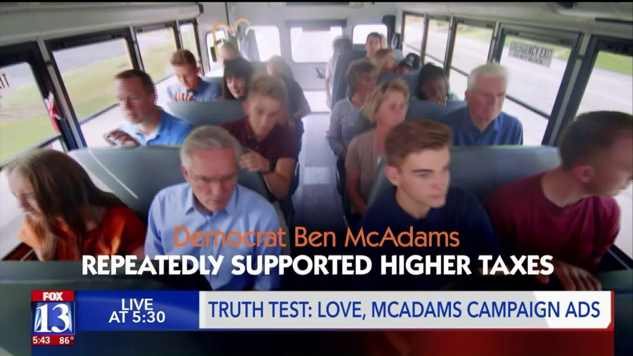 The tax tiff truth test in Love's and McAdams' District 4ads