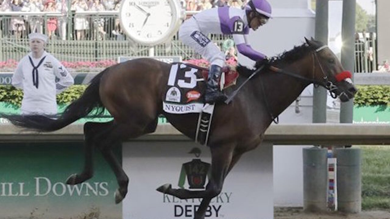 Derby winner Nyquist won't run in Belmont