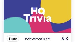 Popular trivia app HQ Trivia ends service