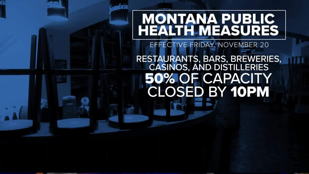New Montana COVID-19 restrictions go into effect