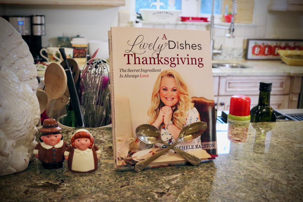 Michele Ralston, of Singer Island, has published a cookbook called, 'A Lively Dishes Thanksgiving.'