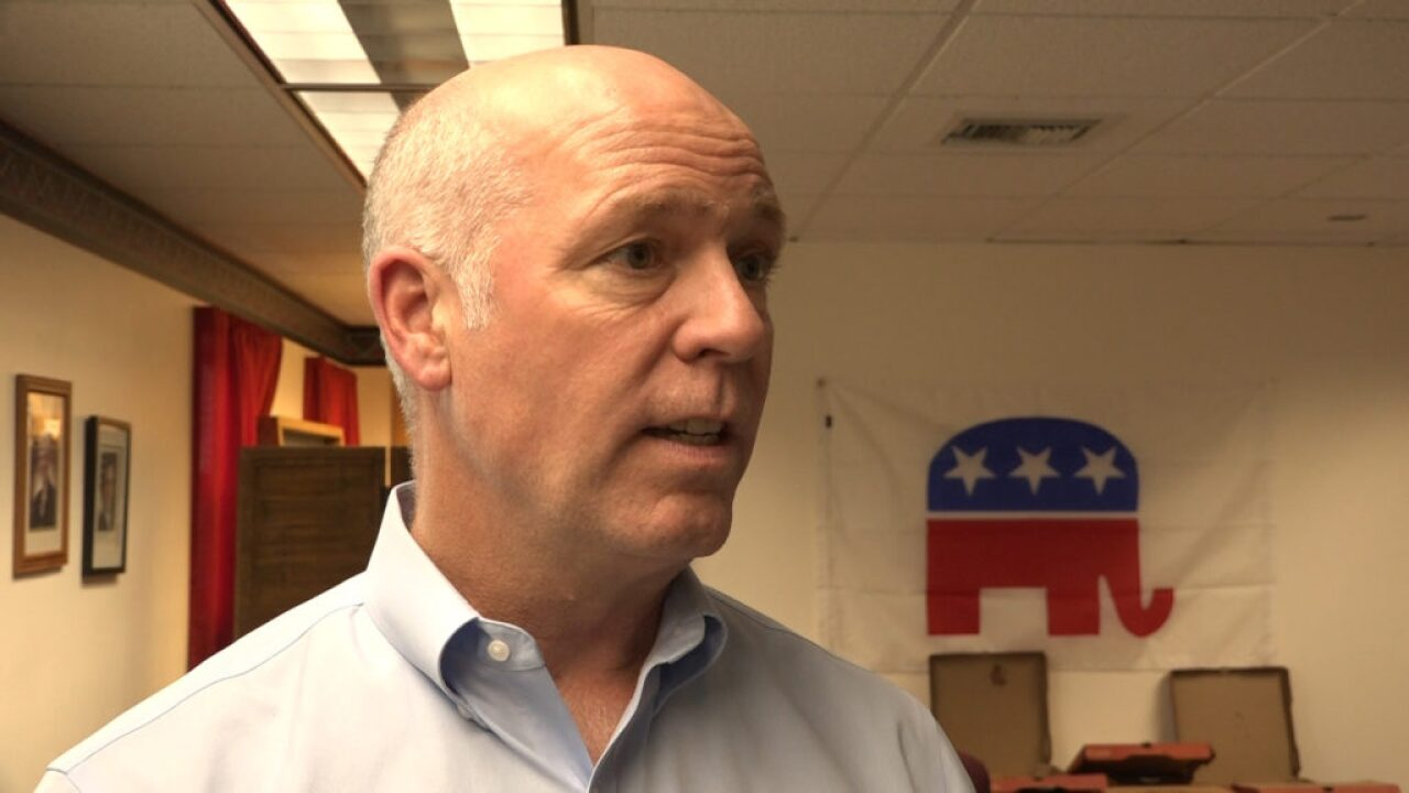 Rep. Gianforte chastises House Democrats for `impeachment fever'