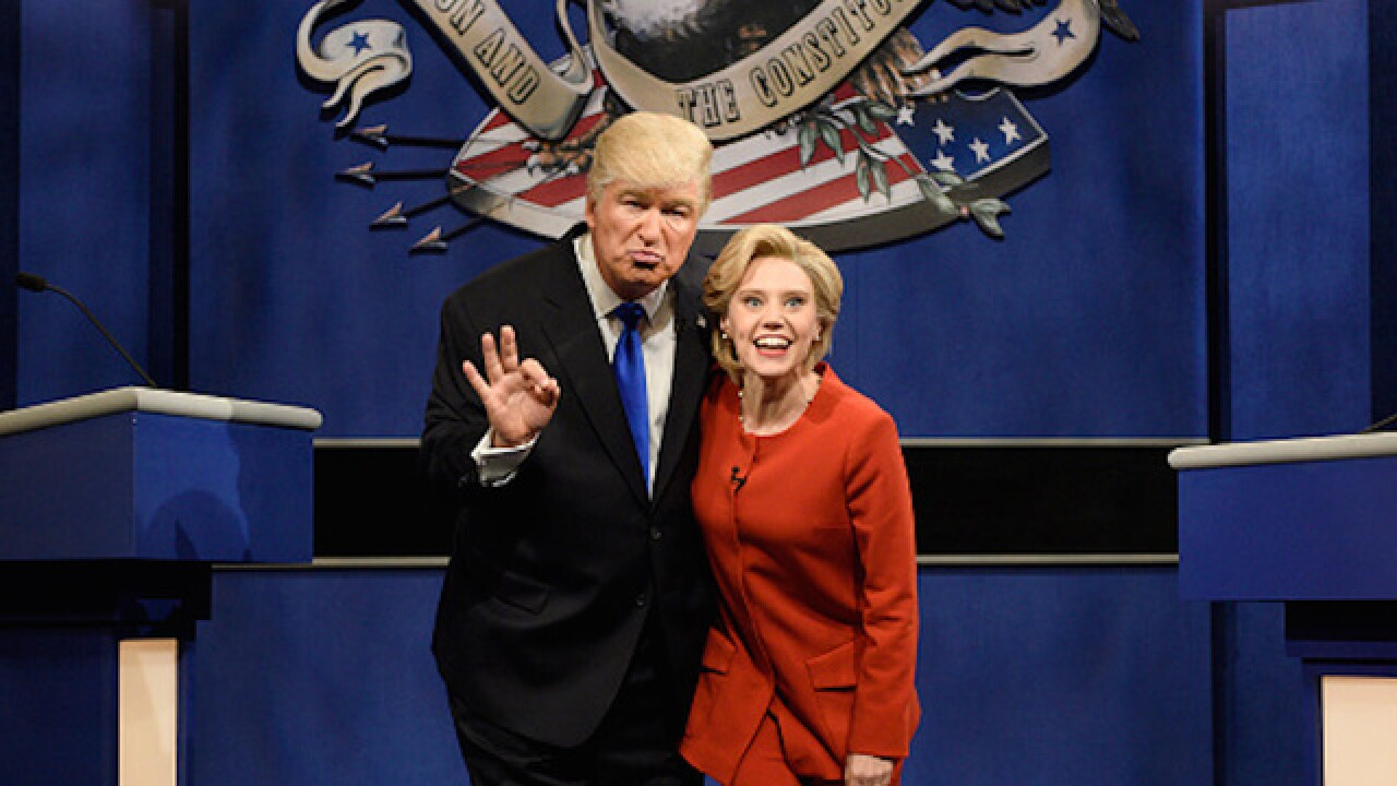 Watch as Alec Baldwin debuts his Trump impression on SNL