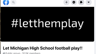 'Let Michigan High School Football Play' Facebook group going viral