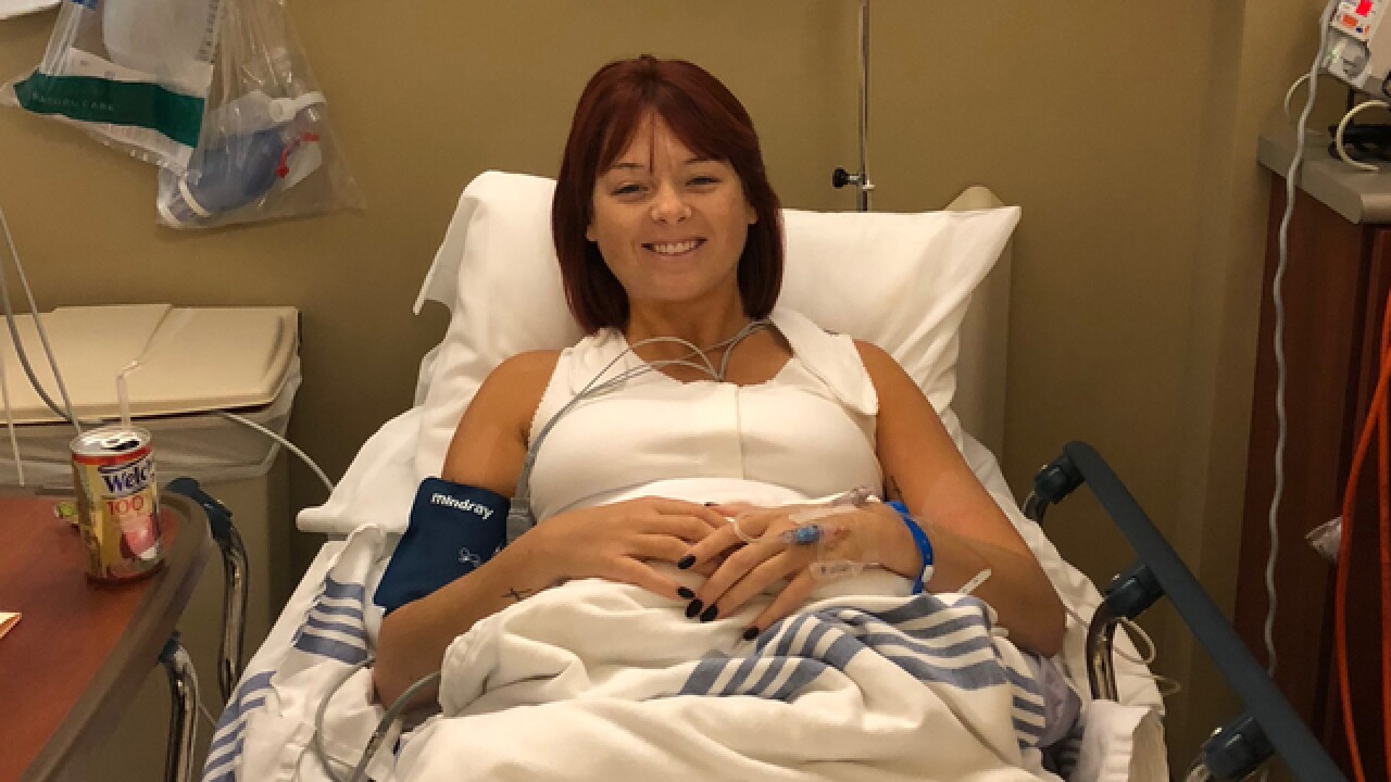 Lenexa woman removes breasts to prevent cancer