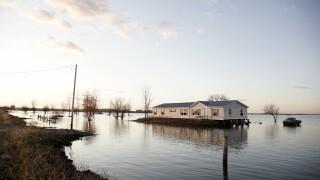 Missouri River Flooded Home