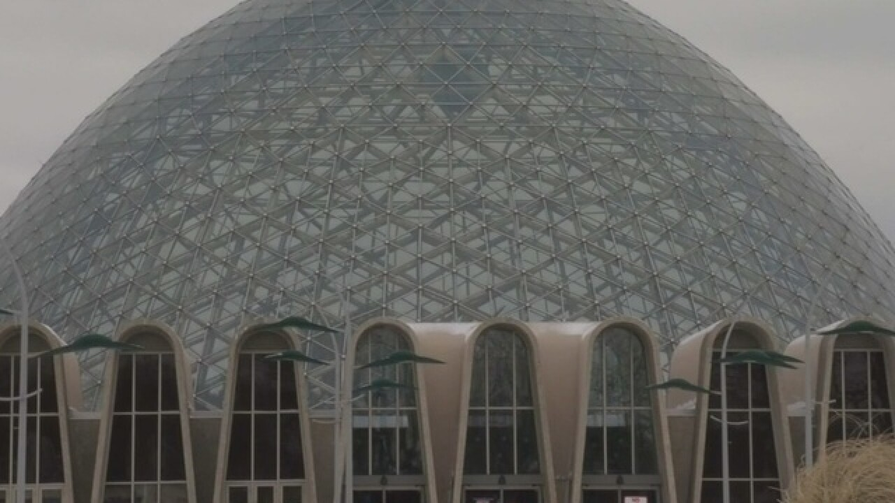 LIVE: Abele gives update on Mitchell Park Domes