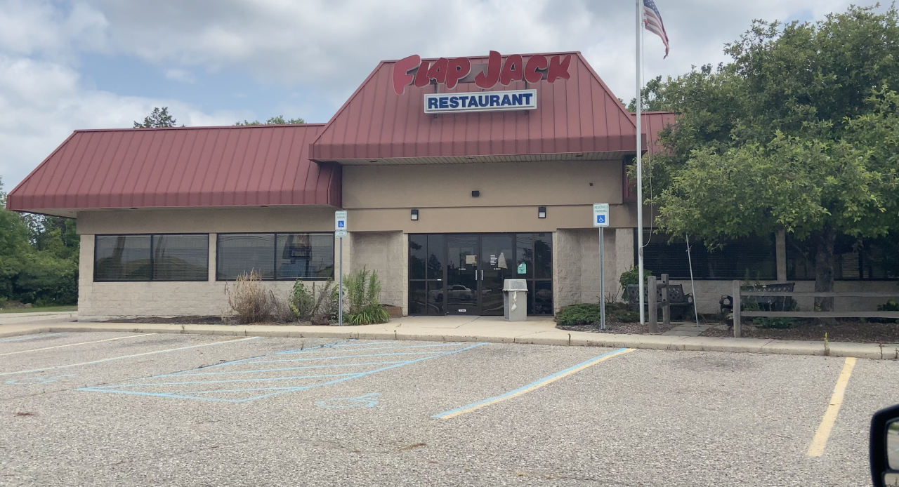 Crossroads Barbecue will replace old Flap Jack.