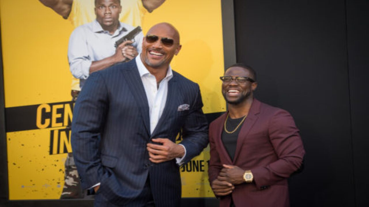 Kevin Hart Dressed Up As The Rock For Halloween—And It's Hilarious