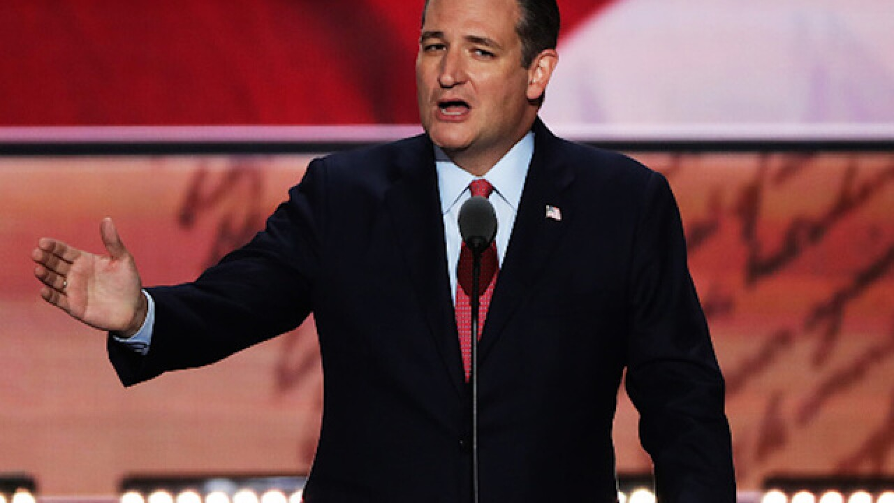 Cruz: Vote your conscience; no endorsement of Trump