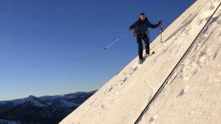 Ski Down Half Dome