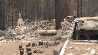 Hundreds without clean drinking water after wildfire damage