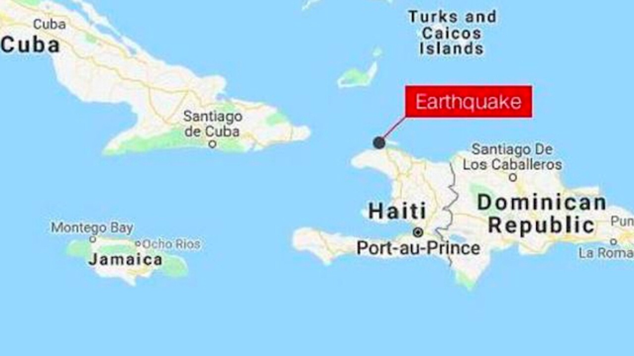 At least 12 people killed, 188 injured after magnitude 5.9 earthquake hits northern Haiti