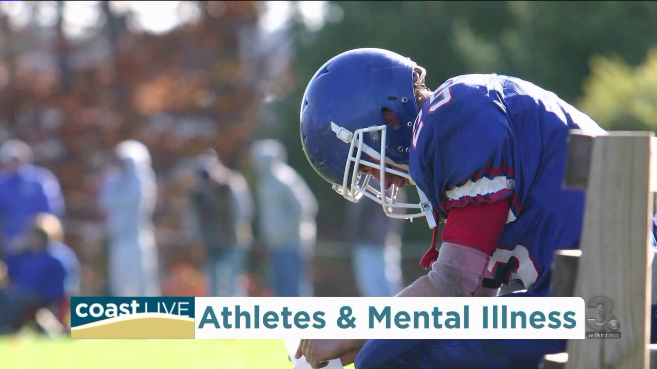 Exploring mental health issues for athletes on Coast Live