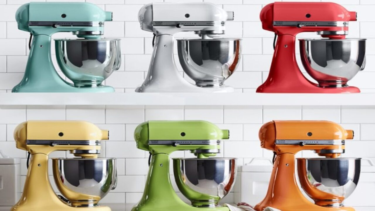 KitchenAid stand mixers and attachments are on sale right now at Williams Sonoma