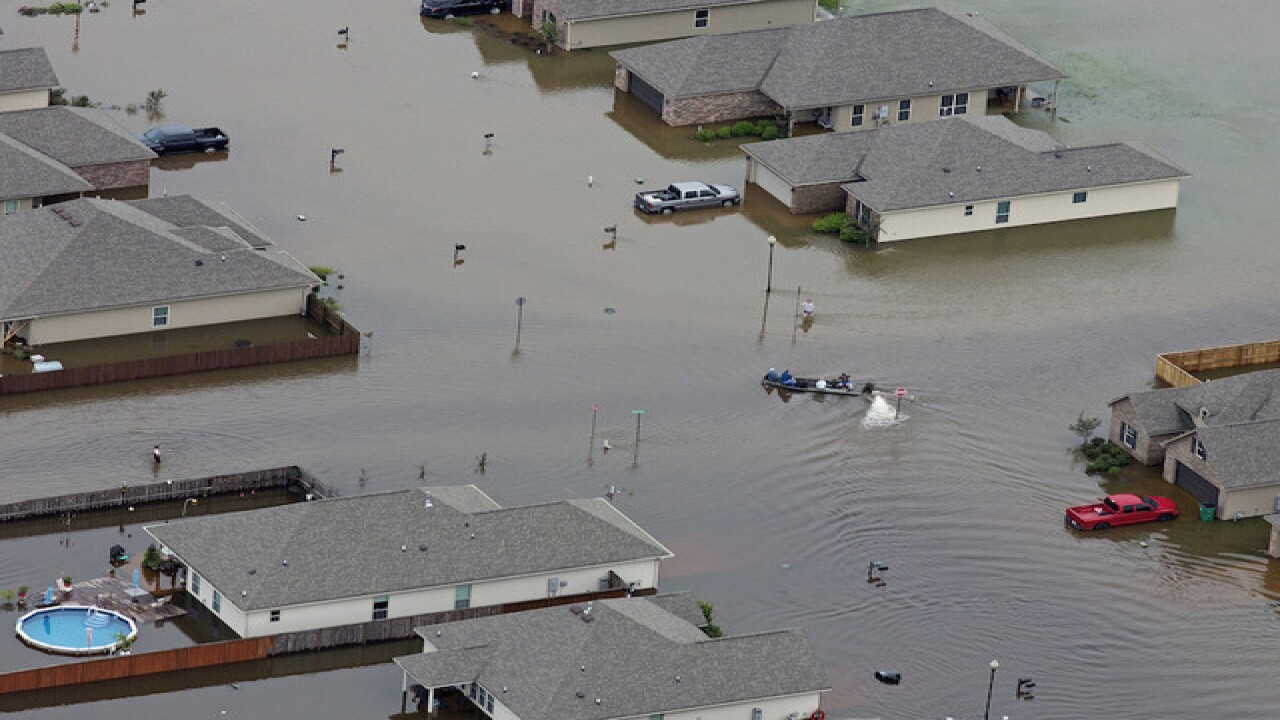 Floods in Louisiana 'unprecedented'