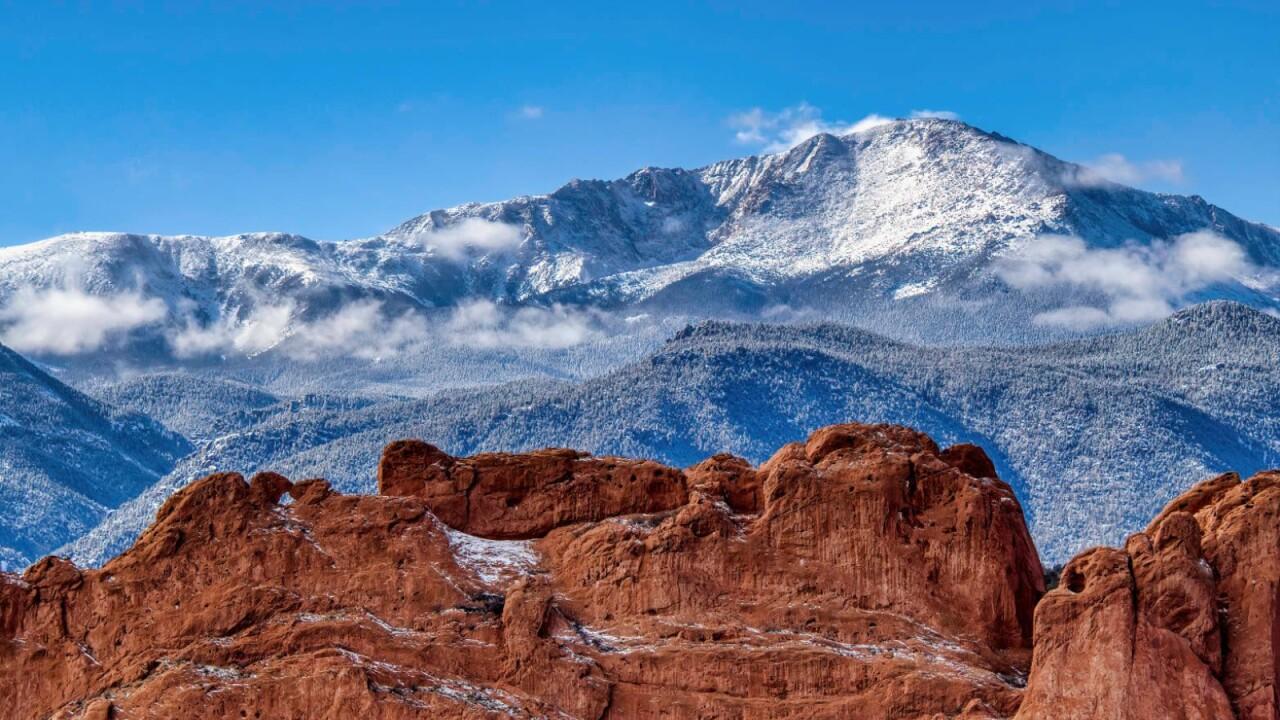 Garden of the Gods and Pikes Peak Mesa Overlook